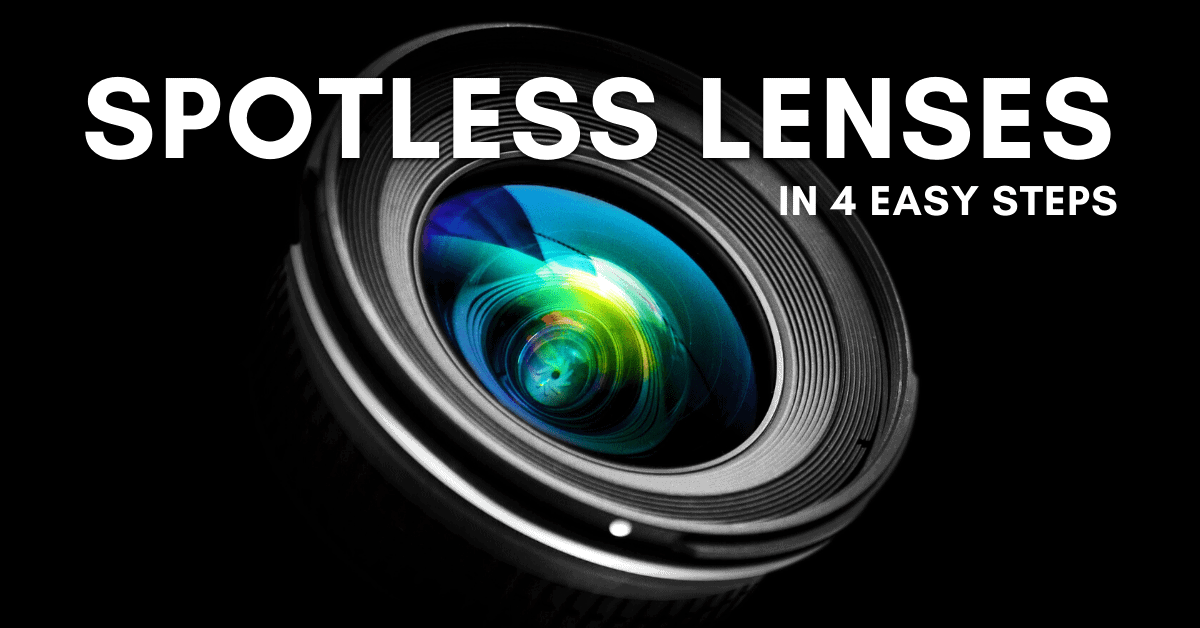 How To Clean A Camera Lens (The Right Way!)